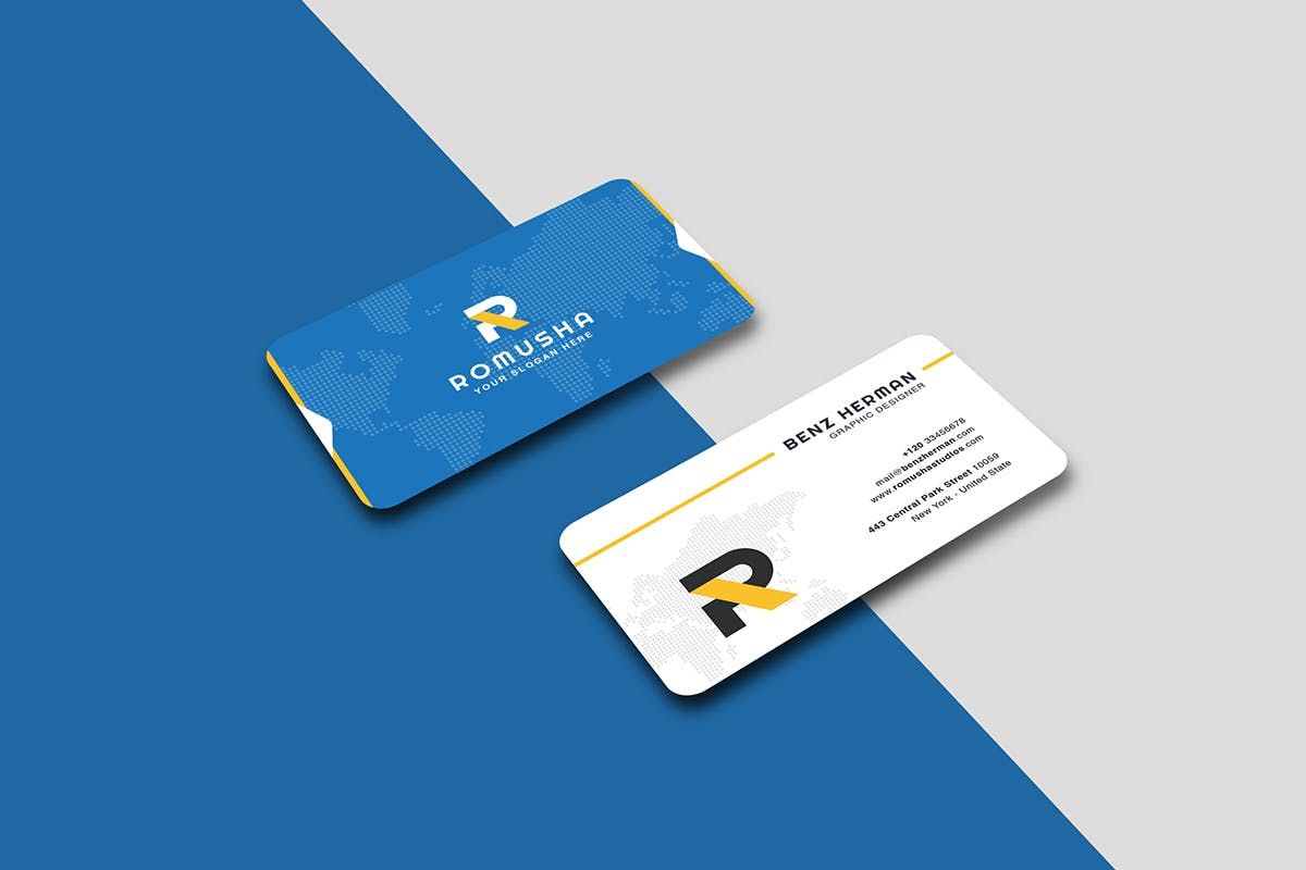 Business Card By Last40 On In 2020 Business Card Graphic