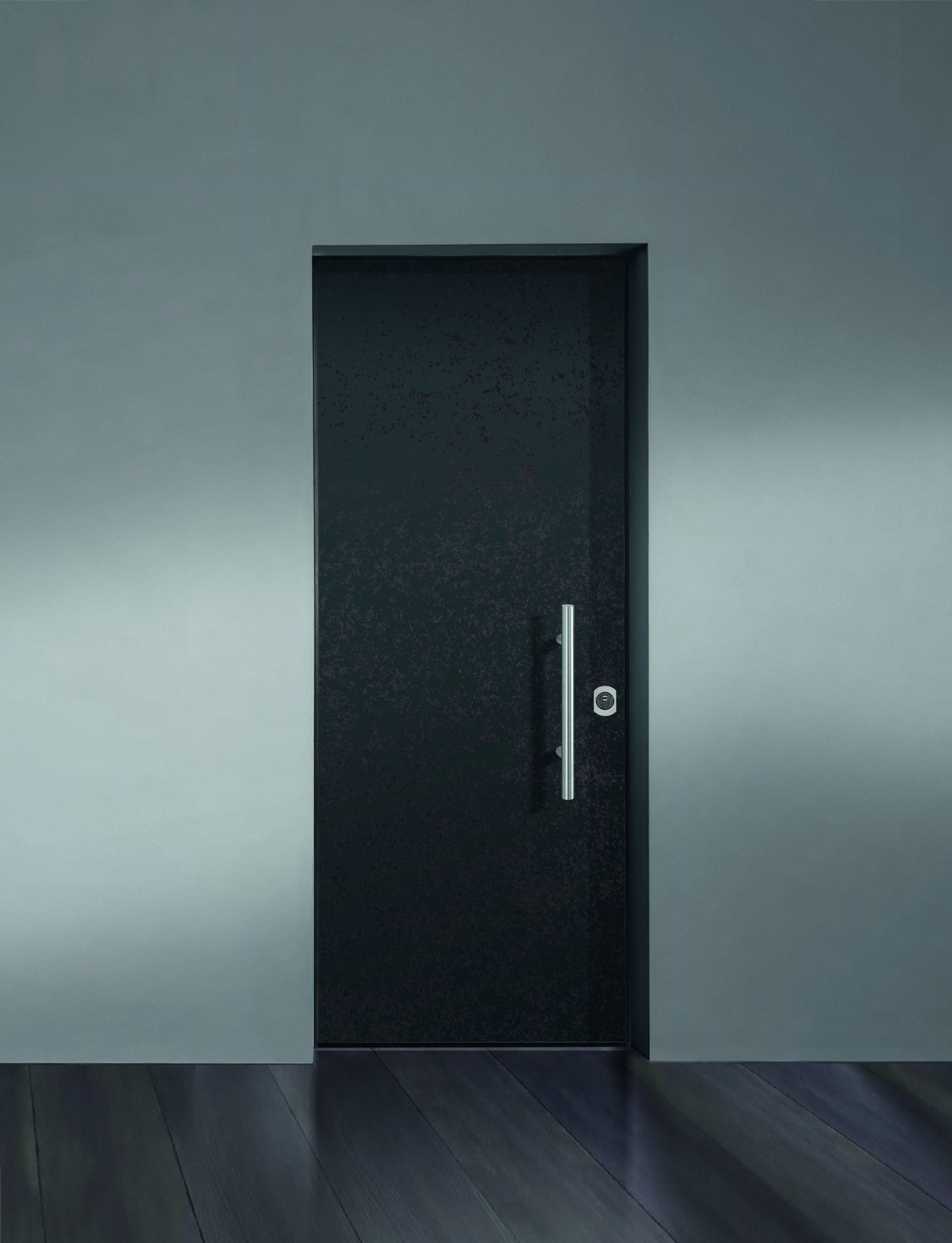 Bauxts Grand Superior Door With Smooth Panel Clad With Laminam