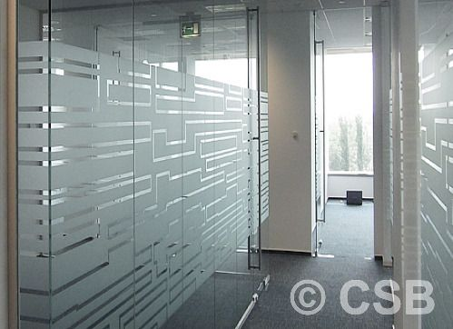 Window Frosting Calgary Glass Etching For Office Windows And Doors Glass Film Design Door Glass Design Glass Partition Designs