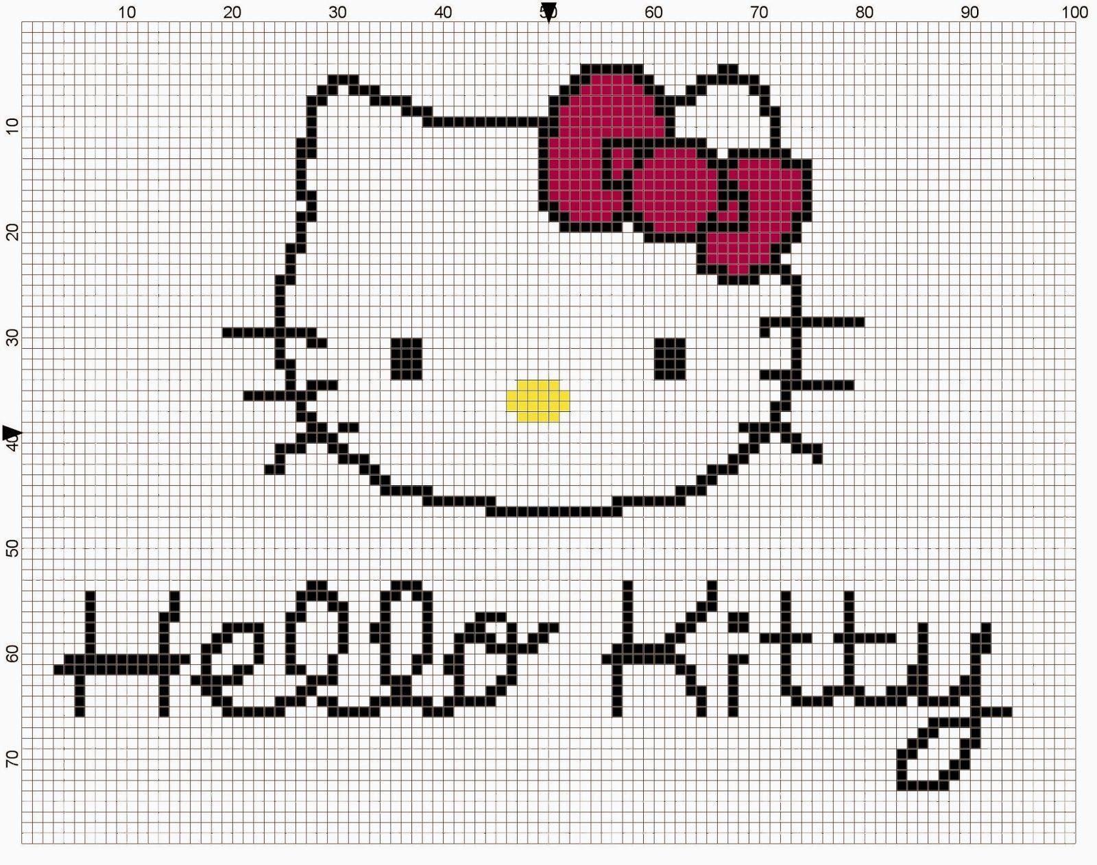 modele tricot kitty