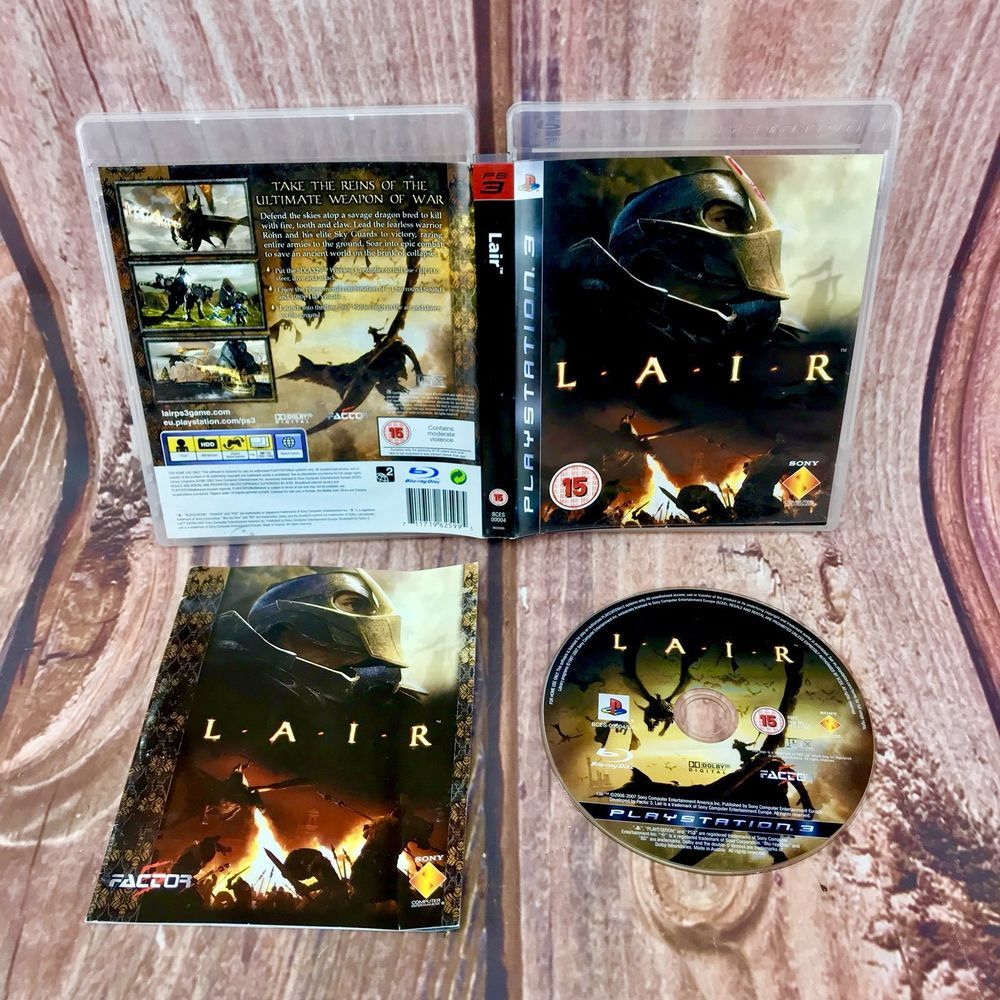 Details about LAIR PS3 PlayStation 3 L.A.I.R Video Games