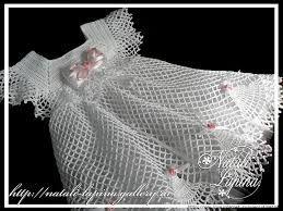 Resultado de imagen para vestidos de niña tejidos