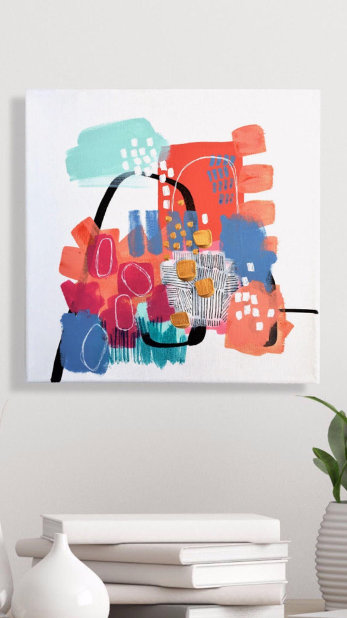 Sara Schroeder Fine Art Miami Art Deco Gallery Wrap Canvas Art