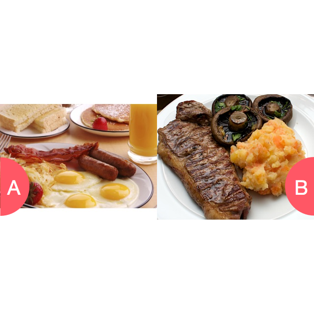 Breakfast or dinner Click here to vote @ http://getwishboneapp.com/share/3831269
