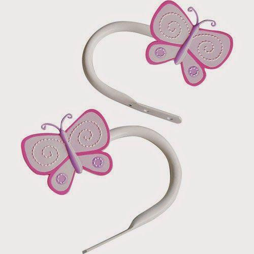 Curtain Ideas Butterfly Curtain Rods And Holdbacks Curtain Rods