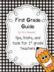 Mrs. Wheeler's First Grade Tidbits: DO YOU TEACH 1ST GRADE?
