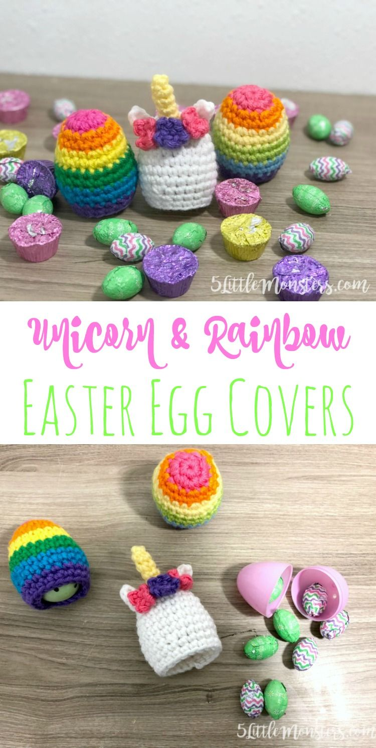 holiday pattern Easter egg breakfast Kitchen Table Decor gift Unicorn Amigurumi Crochet Pattern crocheted Easter Decor Easter Eggcover