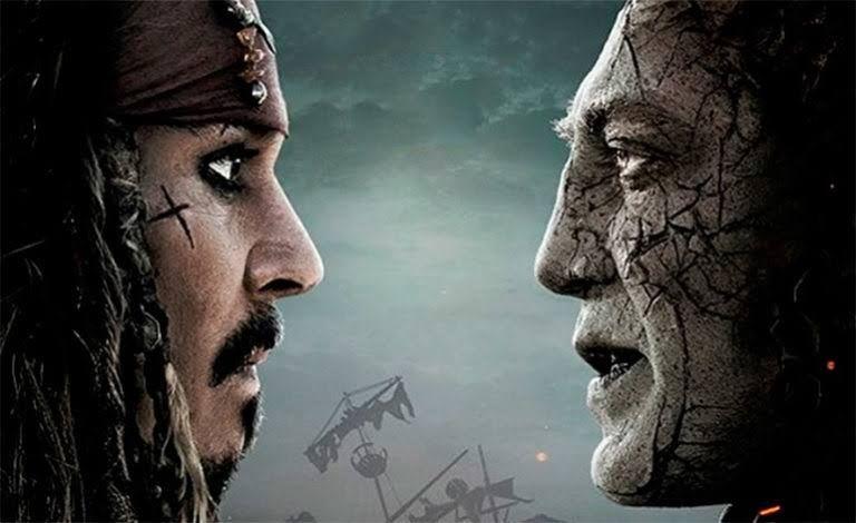 París Piratas Del Caribe La Venganza De Salazar Enfrenta Cara A Cara Al Excesivo Jack Sparrow Con El Capitán En Pirates Of The Caribbean Caribbean Pirates