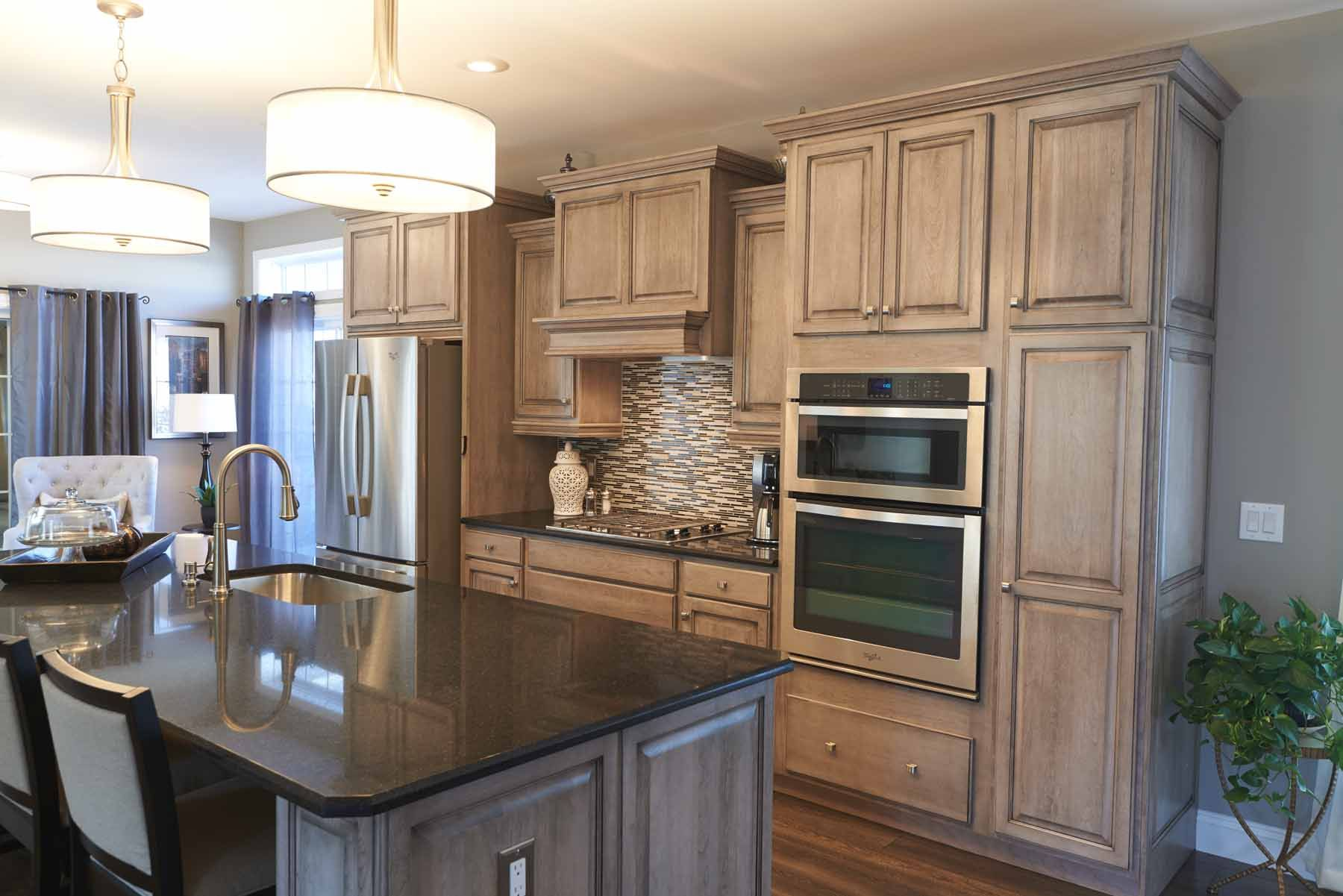 Pin By Ritz Craft Custom Homes On Your Dream Kitchen Kitchen Modular Custom Kitchens Home Kitchens