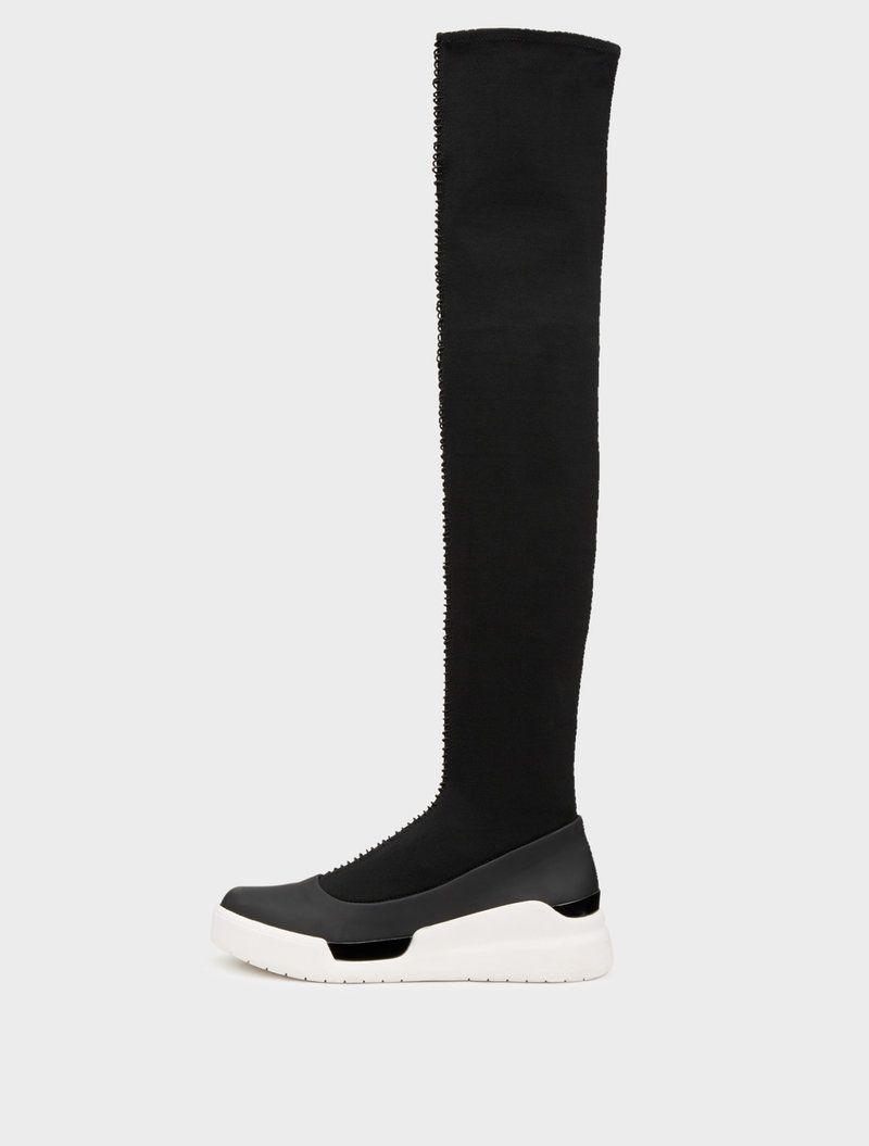 best website afe03 d8877 DKNY Runway Rowan Over The Knee Sock Sneaker. dkny shoes