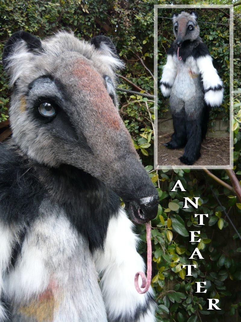 Beastcub Creations | Custom Creature Costumes | anteater costume ...