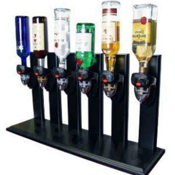 Six Bottle Upside Down Bottle Dispenser | Drink dispenser