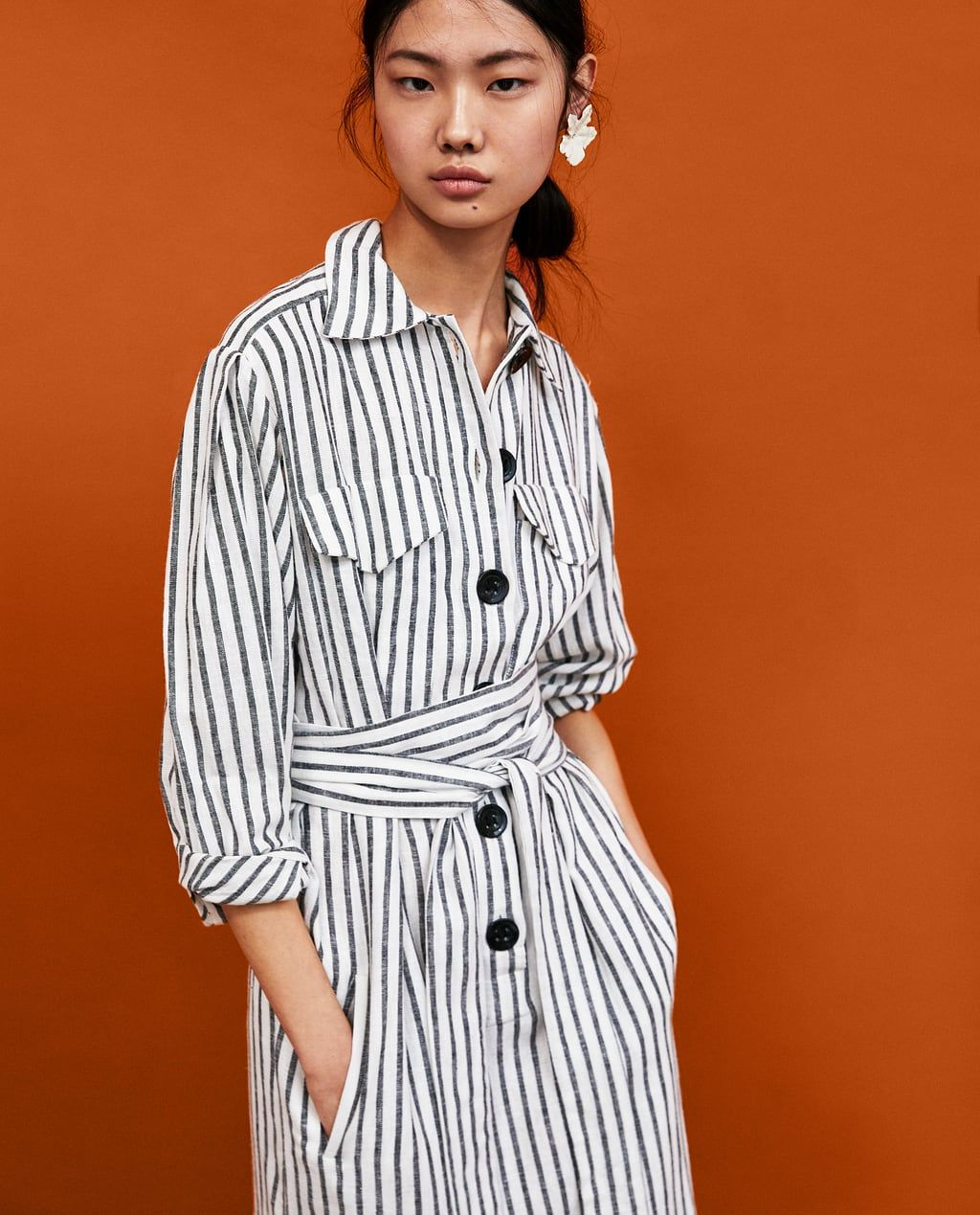 bfdab57e30 Women's Midi Dresses | New Collection Online | ZARA United States ...