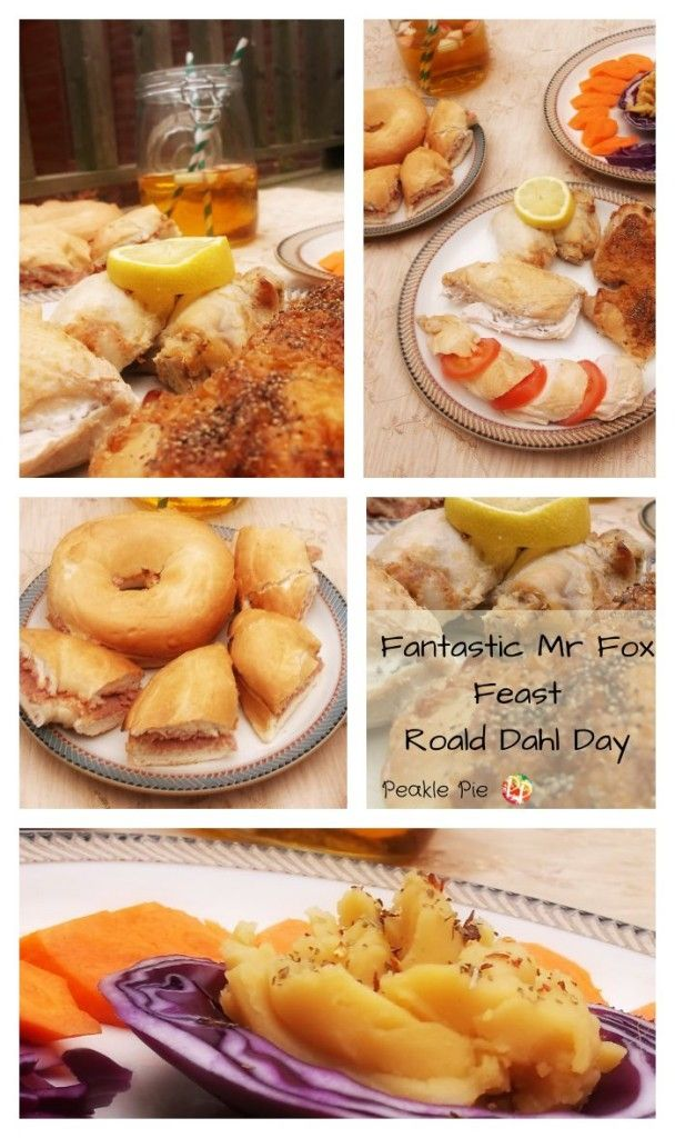 Celebrating Roald Dahl Day With Fantastic Mr Fox Peakle Pie Fantastic Mr Fox Fox Food Roald Dahl Day