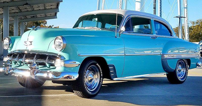 1954 Chevrolet Bel Air Convertible – Restored Beauty