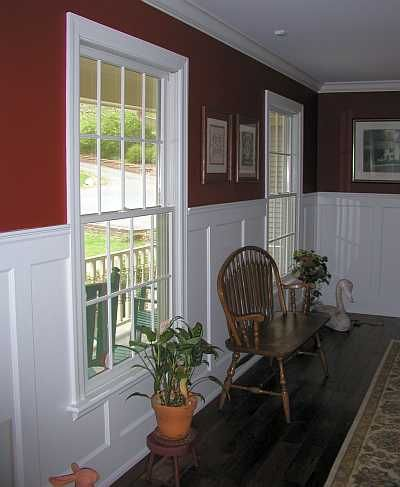 tall wall paneled wainscoting gallery living room redo wainscoting craftsman dining room. Black Bedroom Furniture Sets. Home Design Ideas