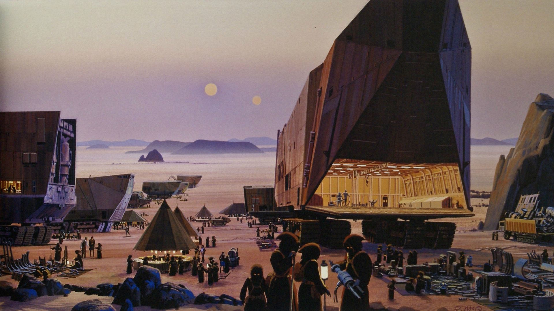 Some Of My Favourite Ralph Mcquarrie Star Wars Concept Art