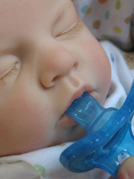 Open Mouth Reborn Baby Boy Takes A Full By