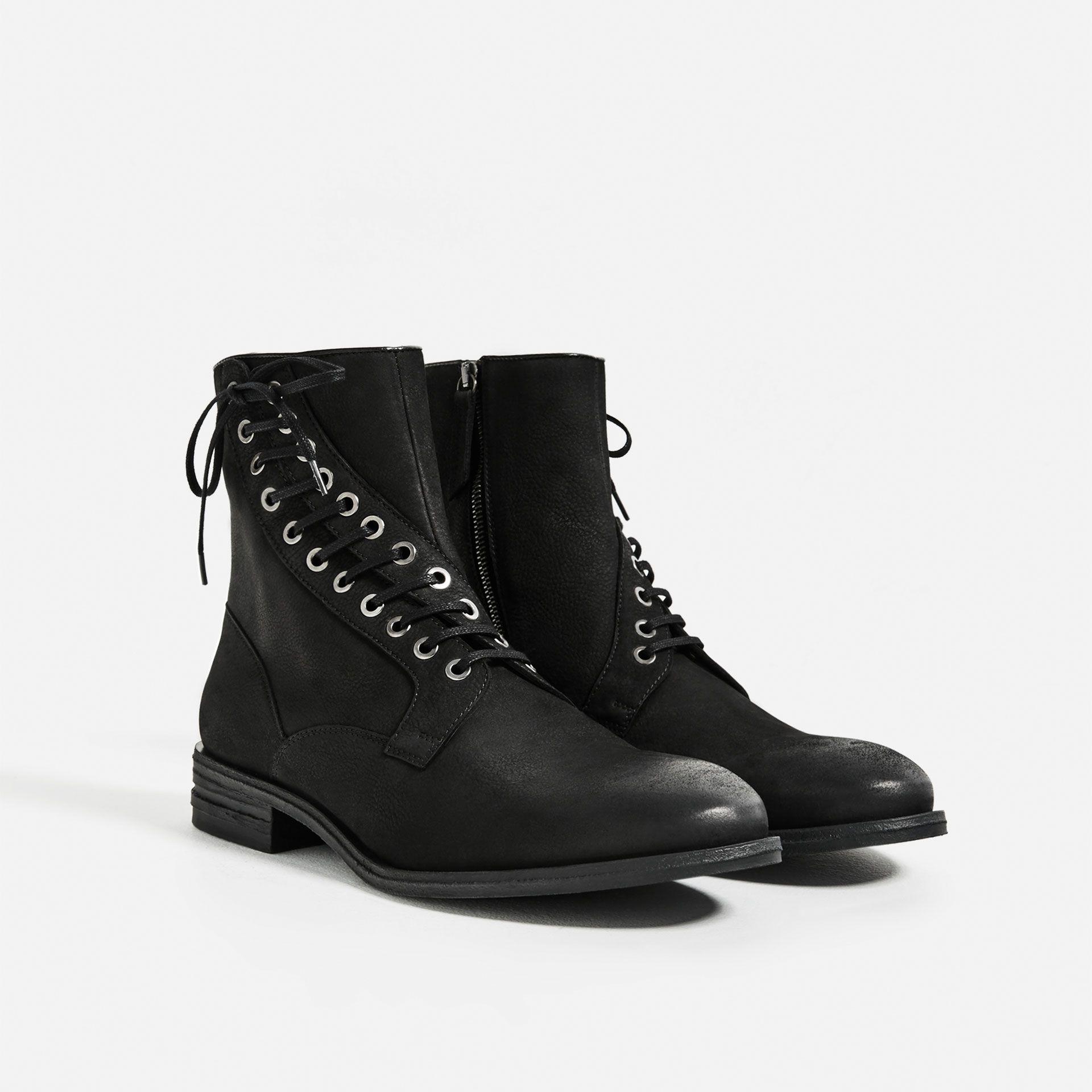 2016 Hot Sale Rockport Street Escape Leather Lace Up Boots Men Brown FXXFP59