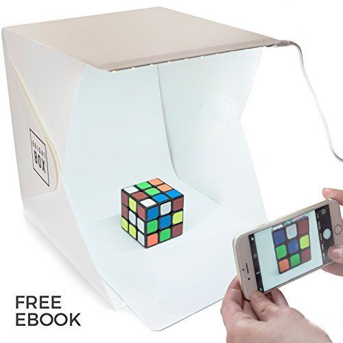 Mini Portable Photo Studio Lighting Kit Cube Tent LED