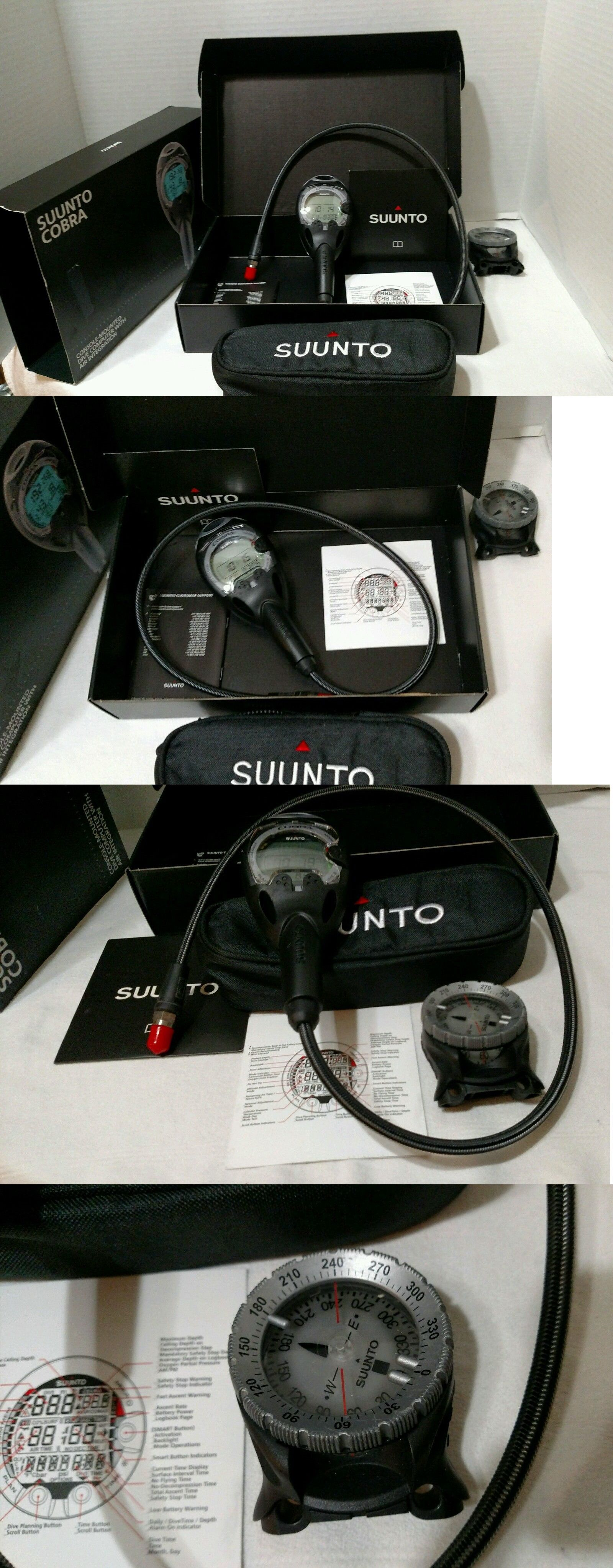 Dive Computers 50882 Suunto Cobra Dive Computer New In Box With Used Sk7 Compass Buy It Now Only 464 95 Dive Computers Suunto Best Scuba Diving