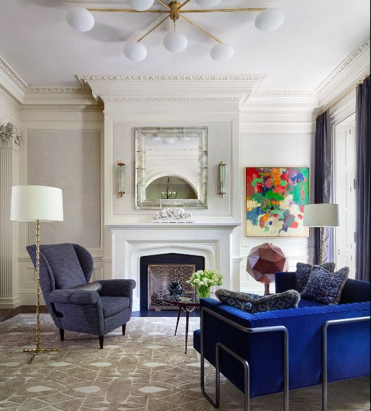 The A List Shawn Henderson Living Spaces Interior Townhouse