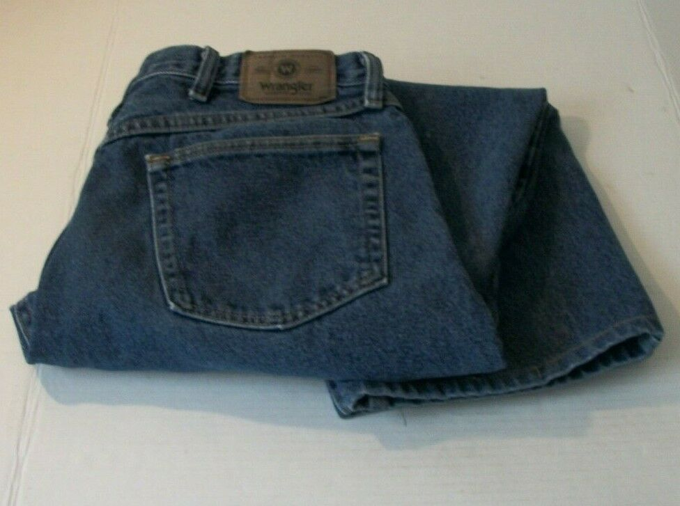 Details about wrangler mens 34 x 29 relaxed fit straight