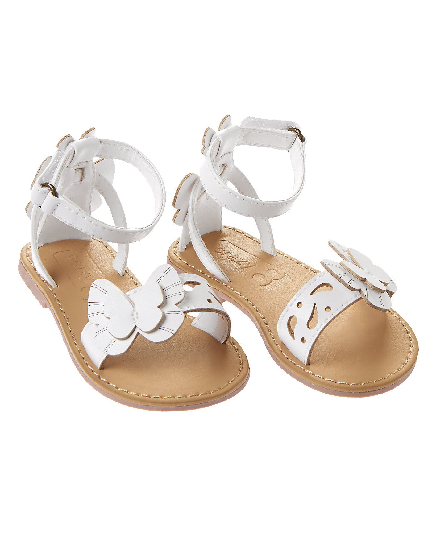 a3947cb4d01 Butterfly Cut-Out Sandals at Crazy 8 Zapatos De Cristal