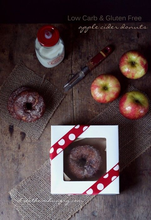 a keto friendly apple cider donut recipe from mellissa sevigny of i breathe im hungry