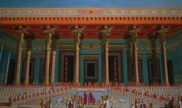 Image result for Persepolis audience hall