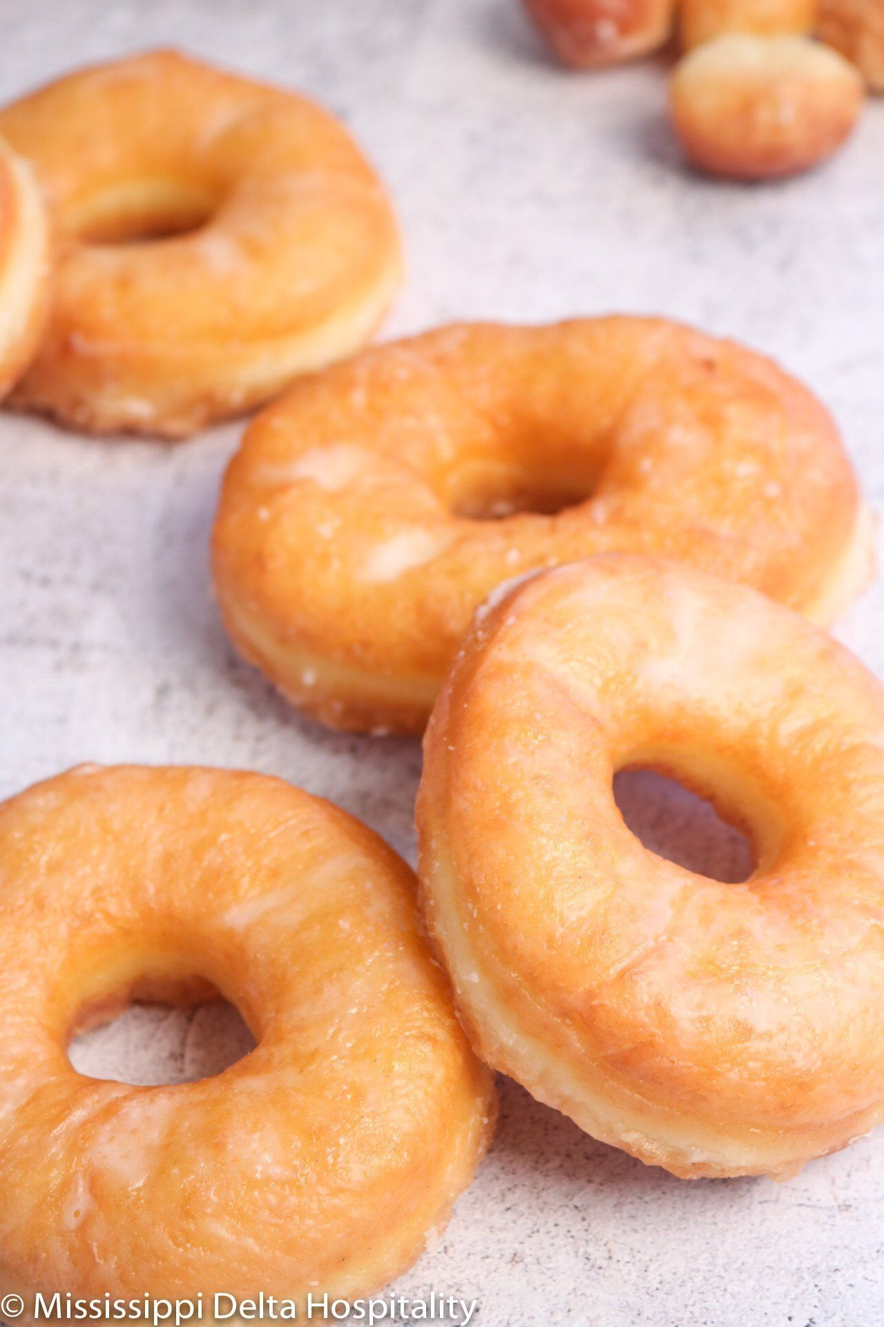 Homemade Glazed Doughnuts Mississippi Delta Hospitality Doughnuts Donuts With Images Homemade Doughnut Recipe Donut Recipe Easy Homemade Homemade Doughnuts