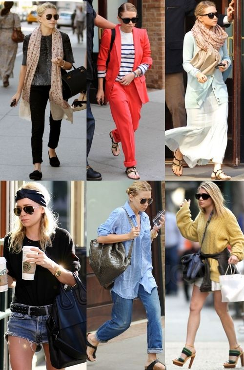 Sister Stylin': Mary Kate and Ashley Olsen   BrandsExclusive Blog