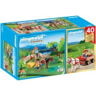 Playmobil Pony 40th Anniversary Compact Set At Argos Co Uk Your Online For Animal Playsets And Collectables Kids Style Pinterest