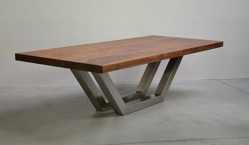 amerikanische nussbaum edelstahl mike pinterest. Black Bedroom Furniture Sets. Home Design Ideas