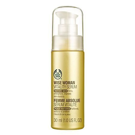 The Body Shop Wise Woman Vitality Serum 1 0 Fluid Ounce By The Body Shop 19 48 We Have Never Tested Our The Body Shop Face Mask Anti Aging Face Moisturizer