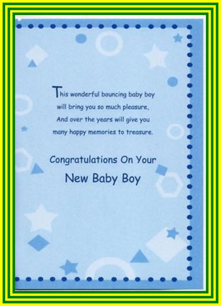 118 reference of baby shower card message for boy in 2020