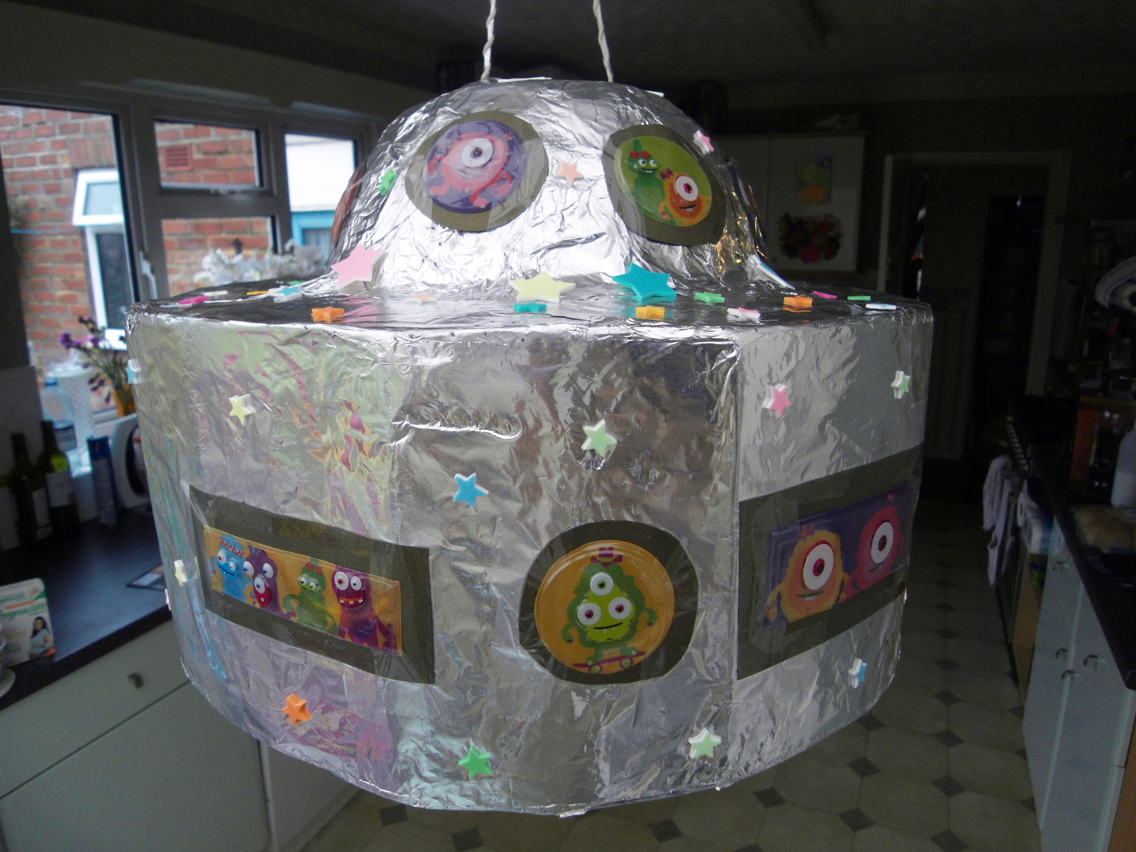 Ufo Pinata For Space Party