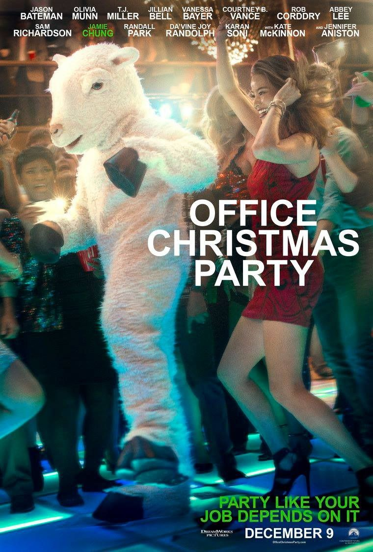 Office Christmas Party Jamie Chung Poster | Posters | Pinterest ...
