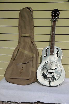 Epiphone metal Resonator Dobro. Very Good condition w/ soft case.