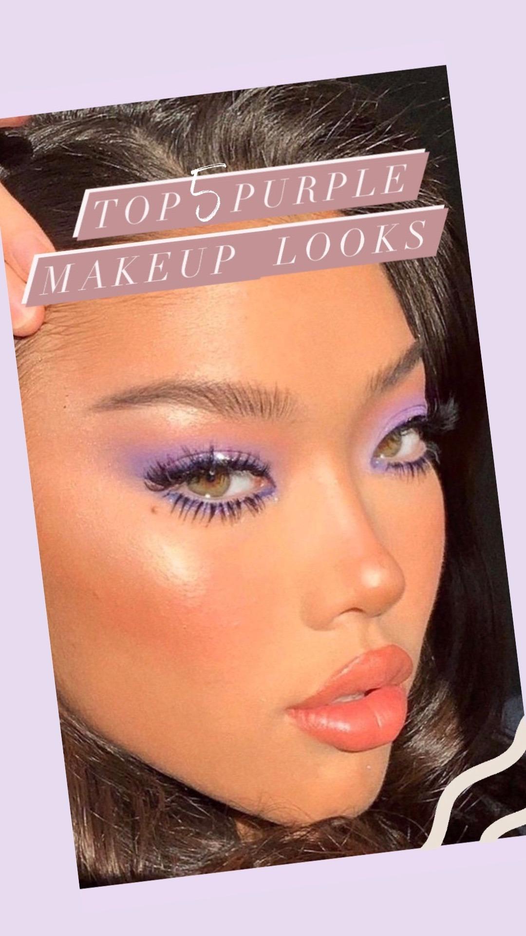 Top 5 Purple Makeup Looks