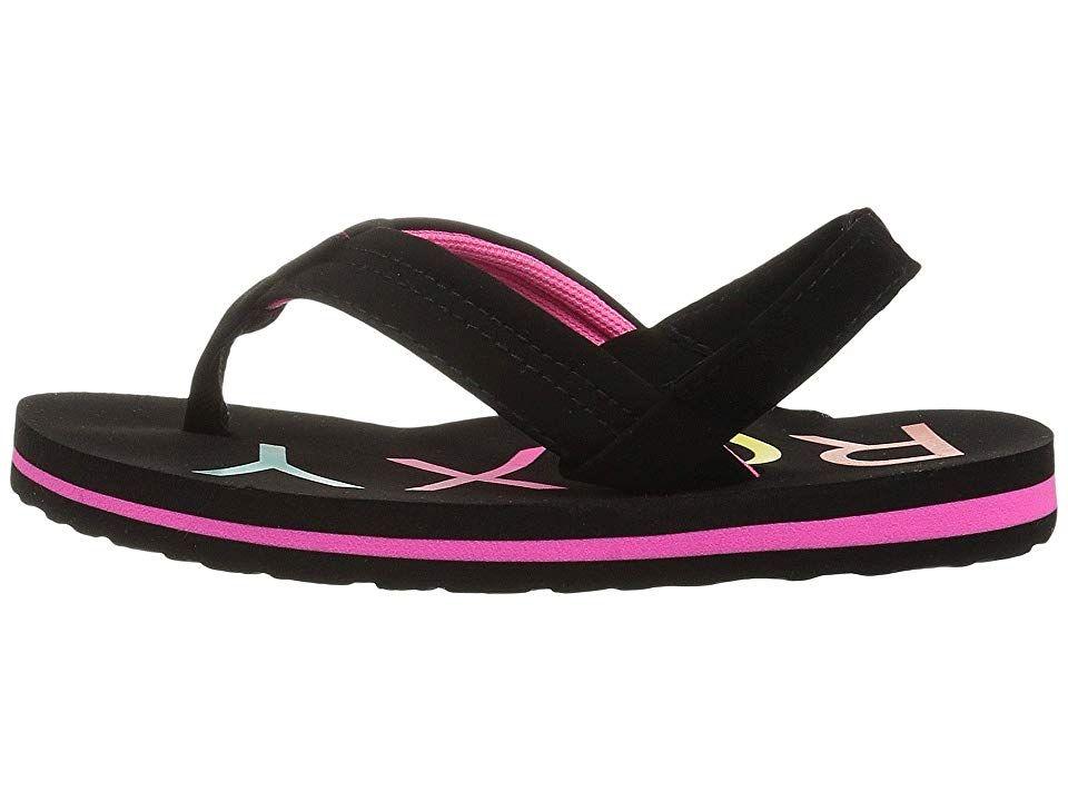 f897ca157 Roxy Kids Vista II (Toddler Little Kid) Girls Shoes Black