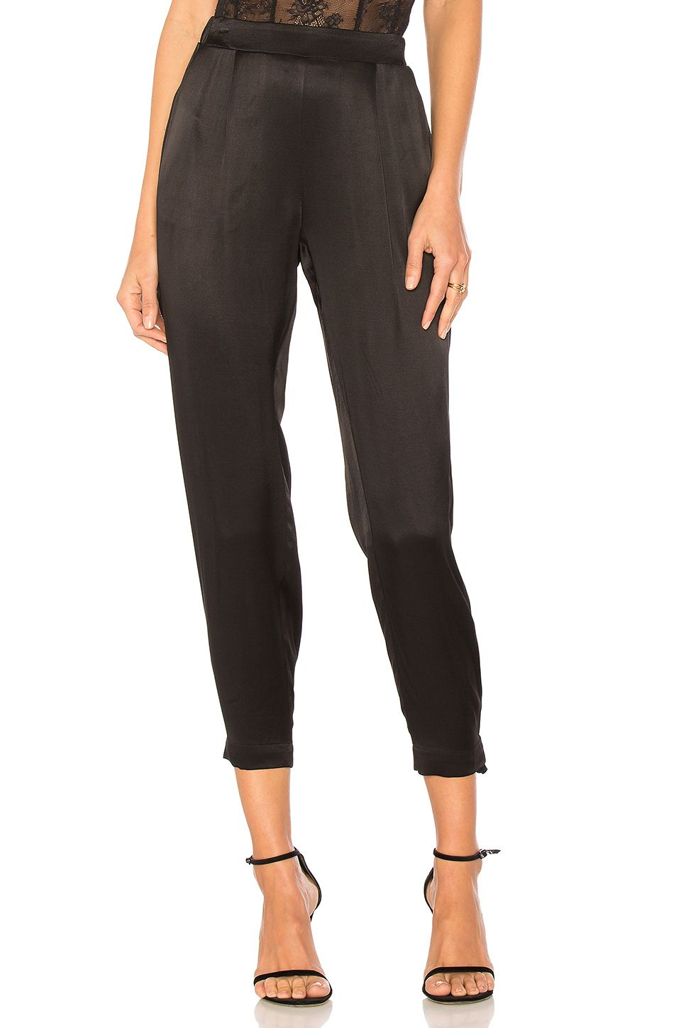 cdb1d3d8e005a6 Michael Stars Jogger Pant in Black | spring 2018 shopping list ...
