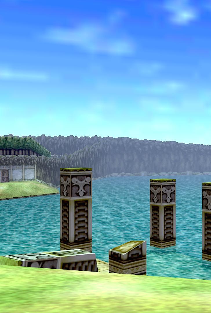 Lake Hylia   Ocarina of time, Legend of zelda, Big ben