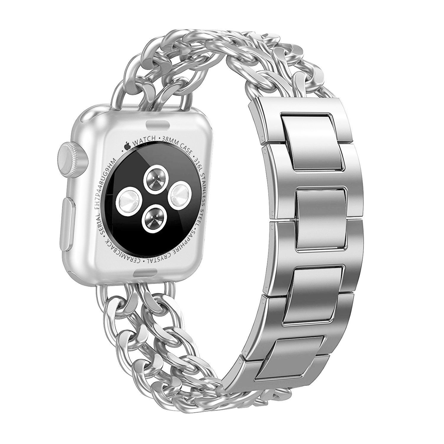 Apple Watch Band, Aokay 38mm Stainless Steel