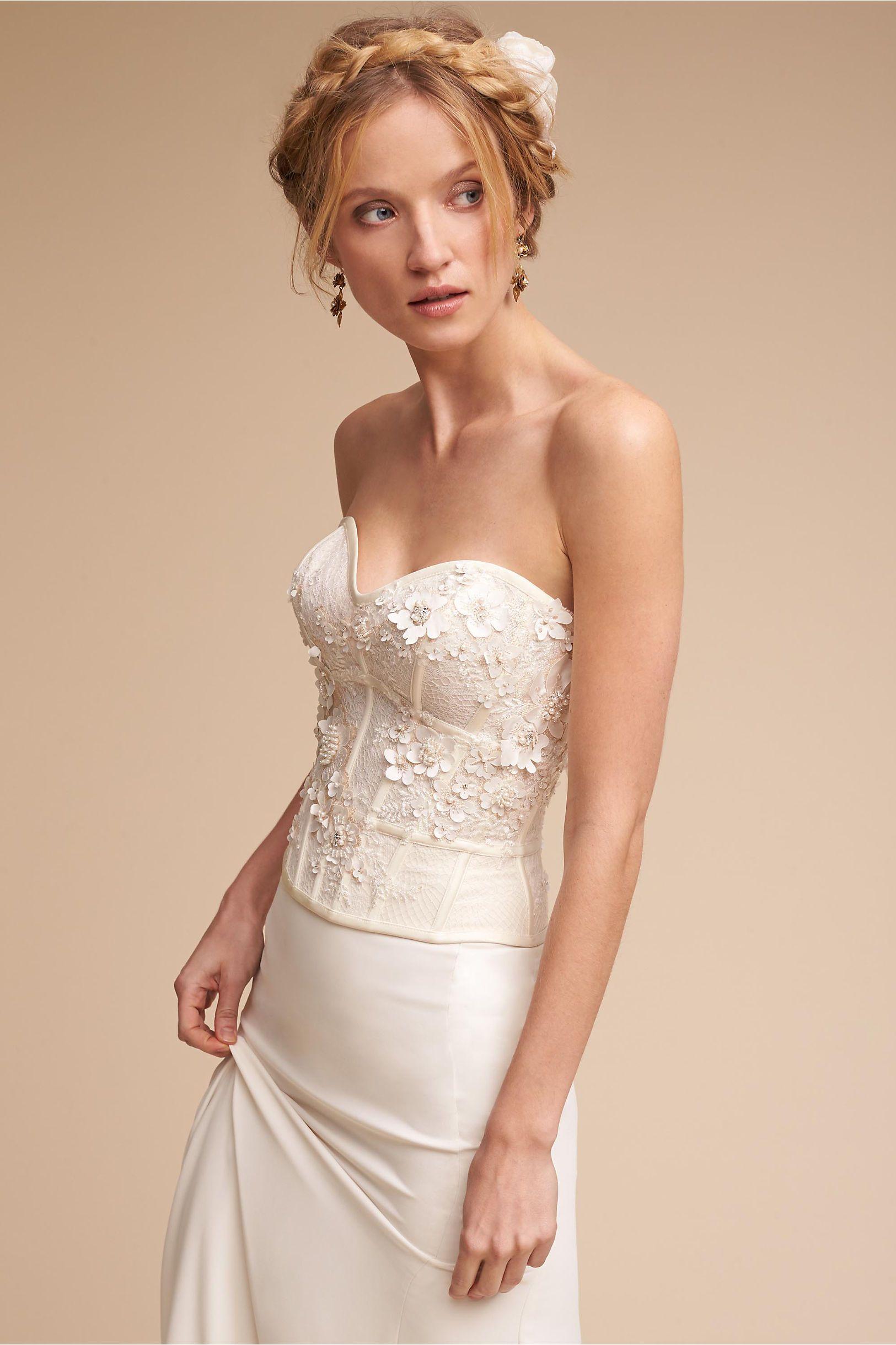 Bhldn Maryna Corset In Bride Wedding Dresses
