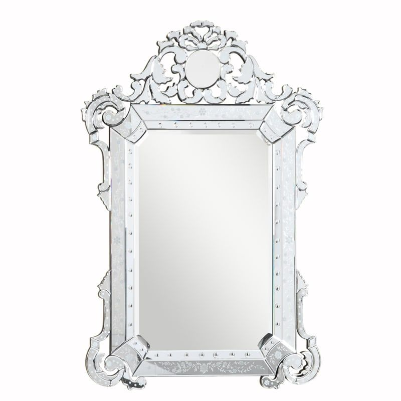Elegant Lighting Mr 2016 Silver Wall Mirror Mirrors For Sale