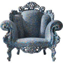 Photo of Magis Proust armchair, blue MagisMagis