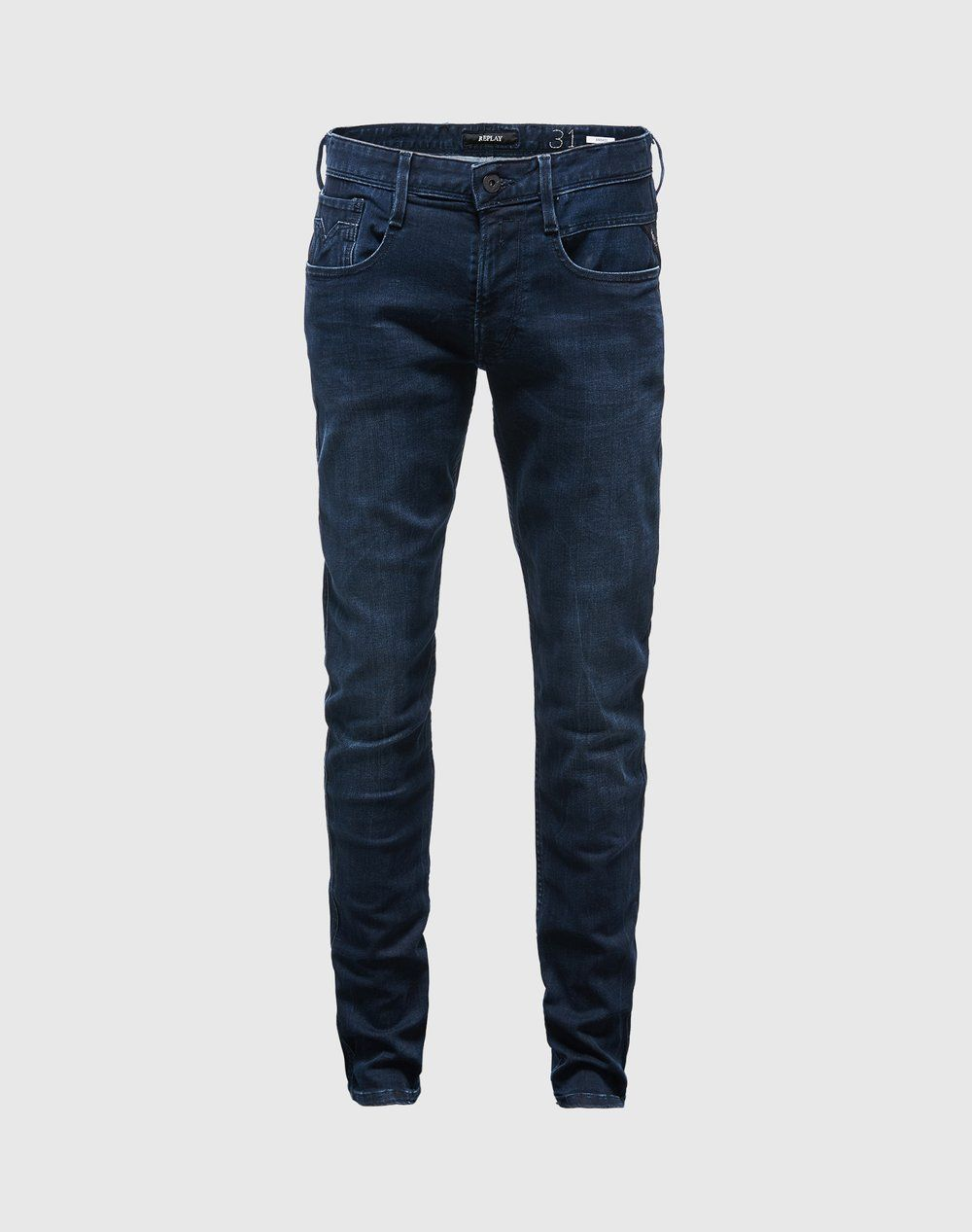 Jeans im Used-Style 'Anbass' von REPLAY - EDITED.de 100€