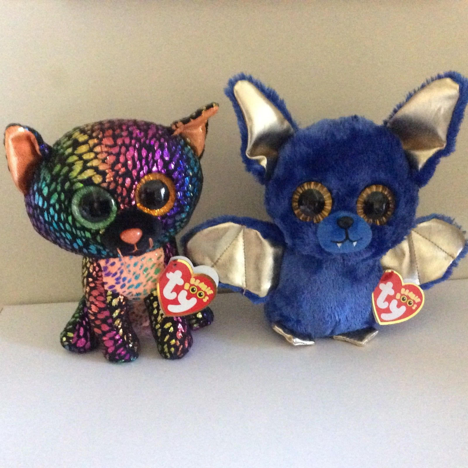 3d0e738967e Current 438  Ty Beanie Boos Spellbound The Cat And Ozzy The Bat Halloween  Exclusives 6 Mwmts -  BUY IT NOW ONLY   24.99 on  eBay  current  beanie ...