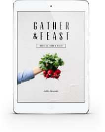 Raw Vegan Carrot Cake | Gather & Feast